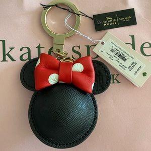 LE Kate Spade Disney Minnie Mouse Keychain